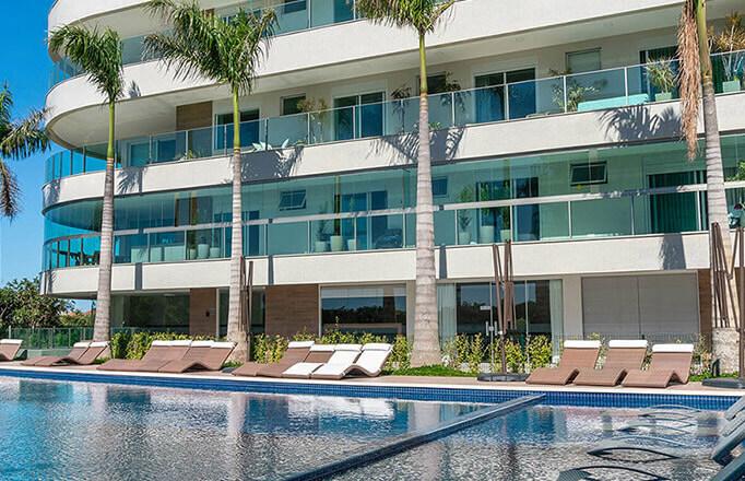 Surpreenda-se com o Oceanic Beachfront Residence